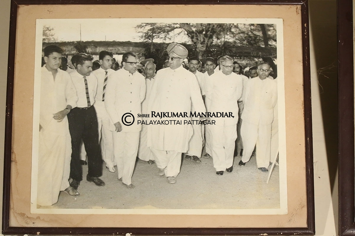 N.S.S.Mandradiar and Maharaja of Mysore