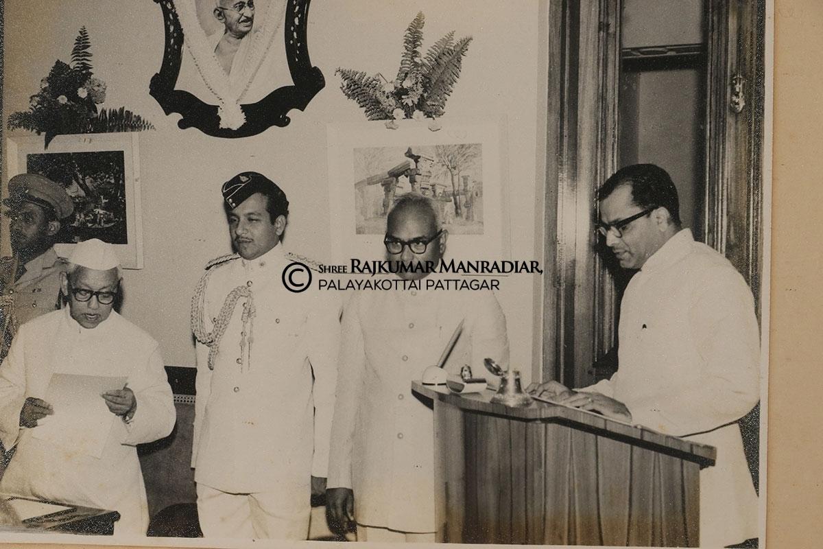 Sri Nallasenapathy Sarkkarai Mandradiar, former M.L.A