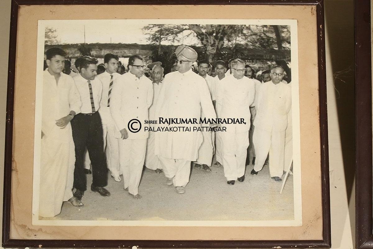 N.S.S.Mandradiar and Maharaja of Mysore