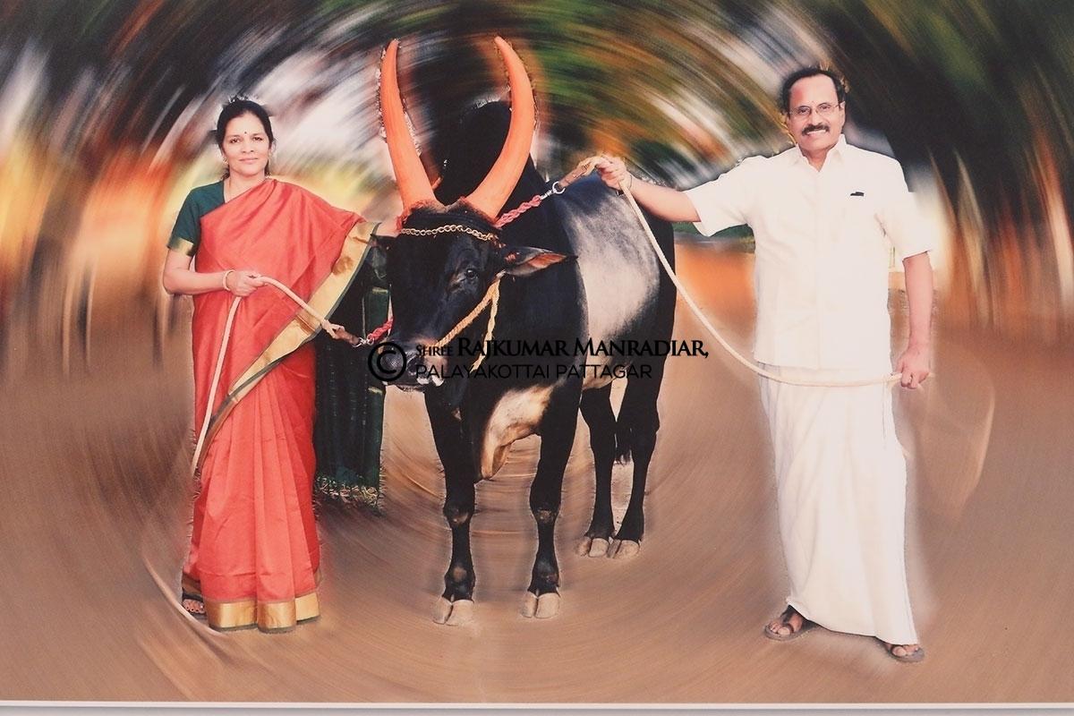Sri Rajkumar Mandradiar and Srimati Jayashree Mandradiar